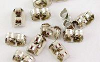 Dopuri pentu cercei argintii antichizati