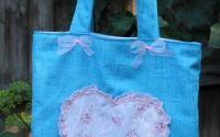 Geanta Pink heart