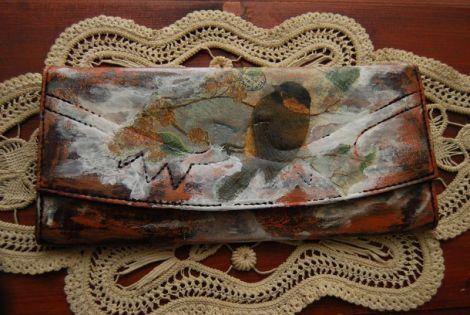 Plic pictat unicat handmade