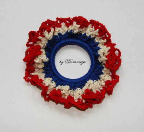 Floare crosetata Vive la France
