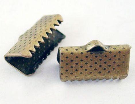 Capat de snur bronz 13x7x5 mm
