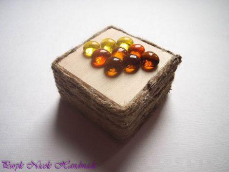 Cutie bijuterii Culorile Toamnei