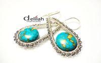 Mosaic Turquoise Liana Earrings