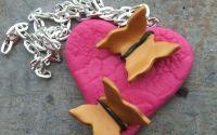My heart grows butterflies - Pink