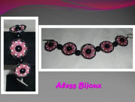 Bratara pink