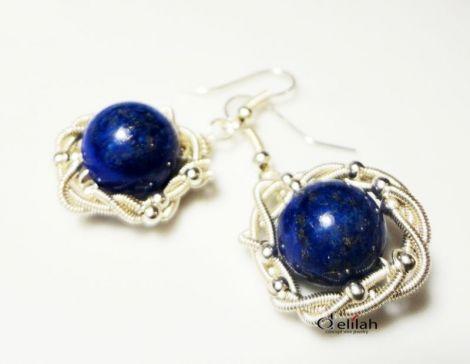 """Cercei """"Blue Ice"""" lapis lazuli"""