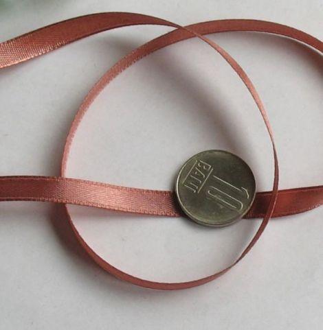 Panglica saten roz inchis x3m