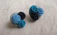 3 trandafiri albastri