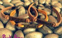 Set bratari Faith Friendly Hope