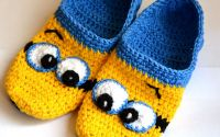 Papuci de casa Minions