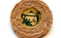Brosa pictata ceainic