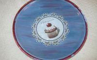 Sweet cherry cupcake