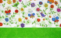 Servetel Motiv floral 7