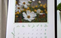 Calendar de birou handmade