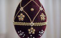 oua decoratiuni stil Faberge 2