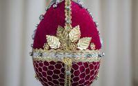 oua decoratiuni stil Faberge 5