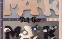 Litere decorative personalizate by Pink Bow