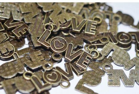 Link Love bronz antichizat 33x14mm