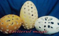 oua  sculptate atelierul magic