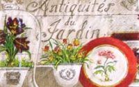 Servetel ghiveci cu flori 6