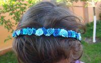 Coronita trandafirasi albastri