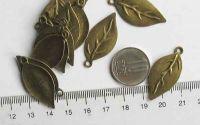 Frunze antichizate x2buc