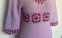 Bluza tunica pulover tricotat