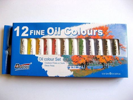Set culori ulei