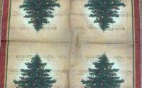 152 Servetel pom de Craciun