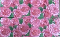 159 Servetel batista trandafiri roz