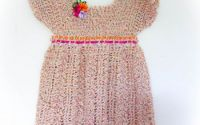 Printesa - rochita crosetate fetita