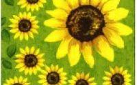 076 Servetel floarea soarelui 2