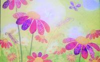 245 Servetel flori in soare