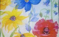 248 Servetel flori pictate