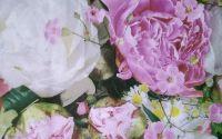 271 Servetel bujori si floarea miresei