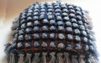 Albastrele - fata perna decorativa