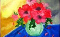 VARA IN ROSU- pictura