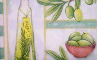 445 Servetel olive