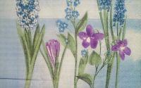 454 Servetel flori de primavara