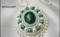 Chrisocola perle si cristale