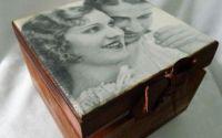 """Caseta de bijuterii """"Amintirea unei iubiri"""""""