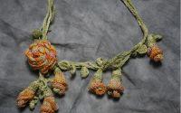 "Colier "" Orange Blossom"