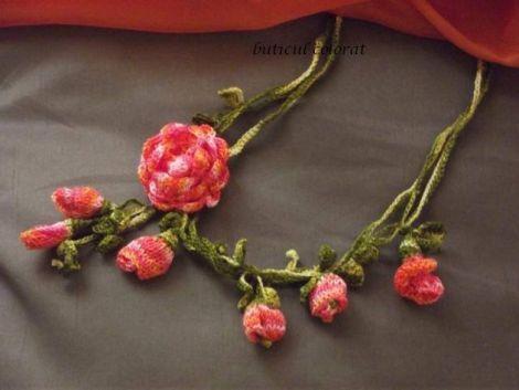 "Colier "" Exotic Blossom """