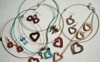 My Valentine... - set colier i cercei
