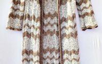 Pardesiu tricotat bej