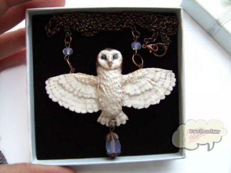 Colier  Barn Owl