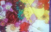 540 Servetel flori fel de fel