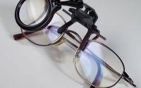 Lupa fixare pe ochelari marire 5X pentru modelism