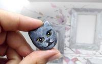 Brosa pictata pisicuta