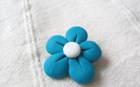 Floricica albastru deschis